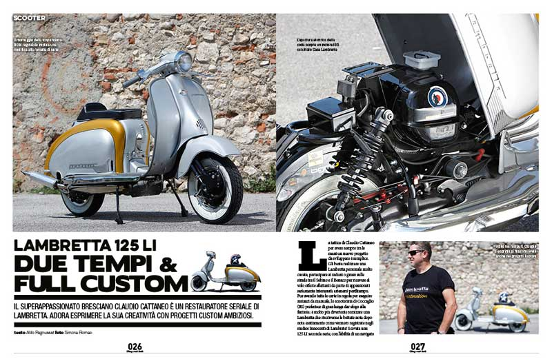 Chop and Roll N. 18, 2015 Lambretta Custom Bergamo 01