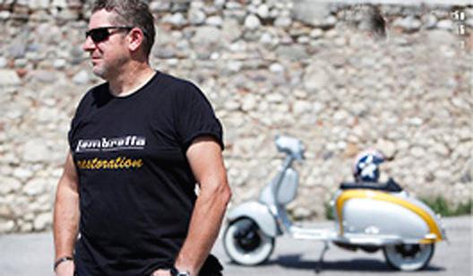 Claudio di Custom Lambretta
