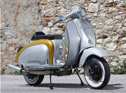 Lambretta Custom Bergamo 01 su Chop and Roll