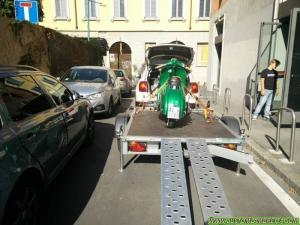 Lambretta Alessandria 01 - Test su strada