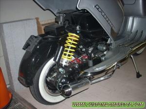 Lambretta Custom LI 125 Bergamo 01 - Sollevamento scocca