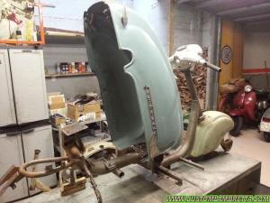 Lambretta LI 125 2a serie - Scocca