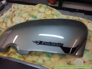 Pannello laterale Lambretta DL 125 - Custom Bergamo 02