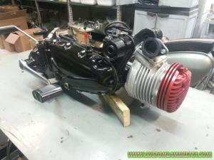 Motore Lambretta DL 125 - Custom Bergamo 02