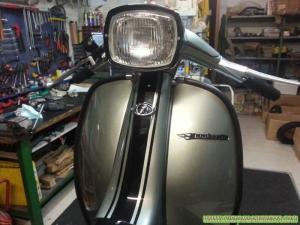 Parte anteriore Lambretta DL 125 - Custom Bergamo 02