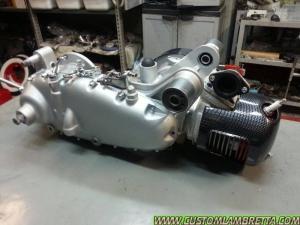 Lambretta Custom LI 125 Venezia 01 - Motore
