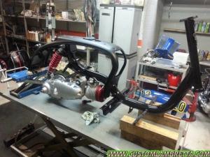 Lambretta Venezia 01 - La fase di personalizzazione