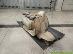 Lambretta Venezia 01 - La fase di recupero