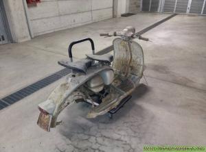 Lambretta Venezia 01 - La fase di smontaggio