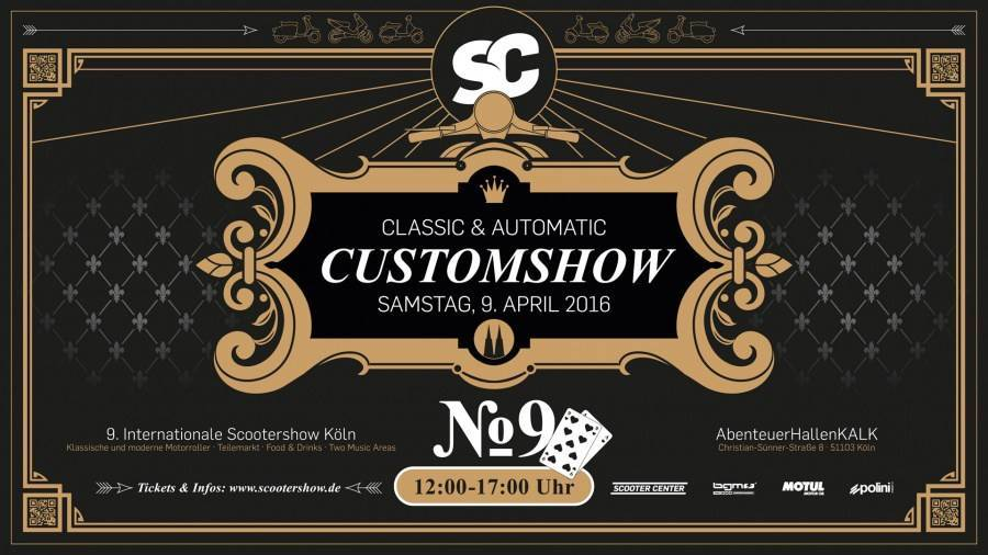 Scooter CustomShow 2016