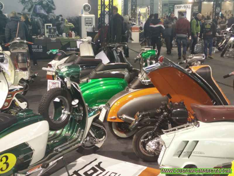 Motor Bike Expo 2016 - Lambretta