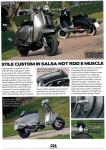 Lambretta Custom Bergamo 02 su Chop and Roll