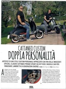 Custom Lambretta su Chop and Roll N.25 del 2016