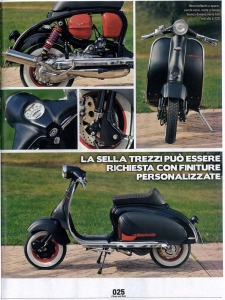 Lambretta Custom Venezia 01 su Chop and Roll