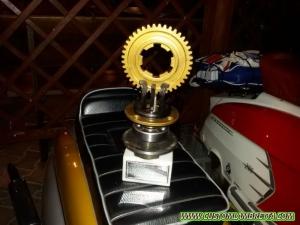 Lambretta Bergamo 01 - Premio raduno 2016 a Modena