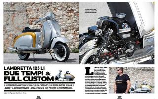 Chop and Roll N. 18, 2015 Lambretta Custom Bergamo 01